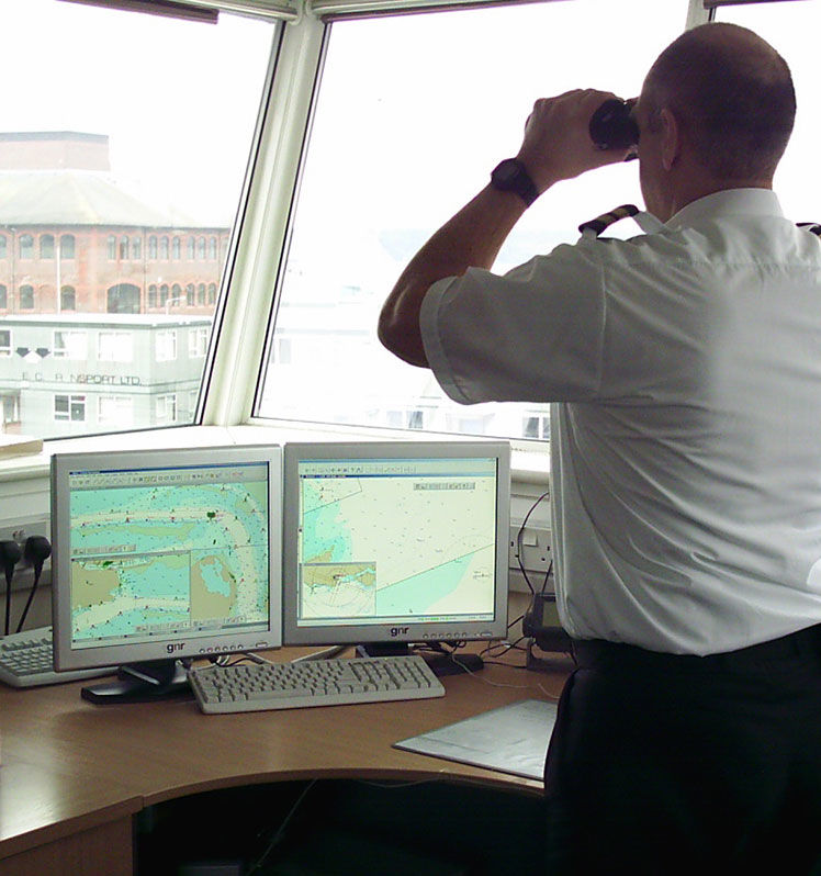 commissioner monitoring Poole Harbour