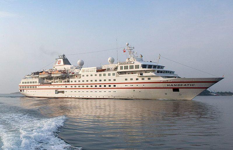 Hanseatic cruise ship