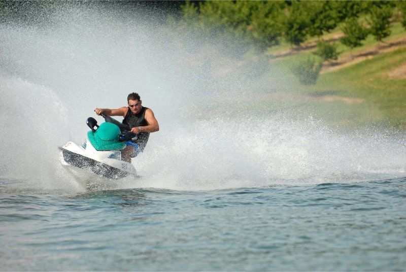 photo of a person ding Personal Watercraft