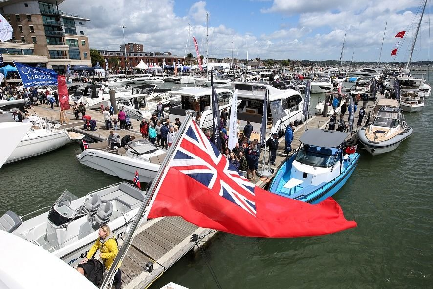 photo from Poole Harbour Boat Show 2019
