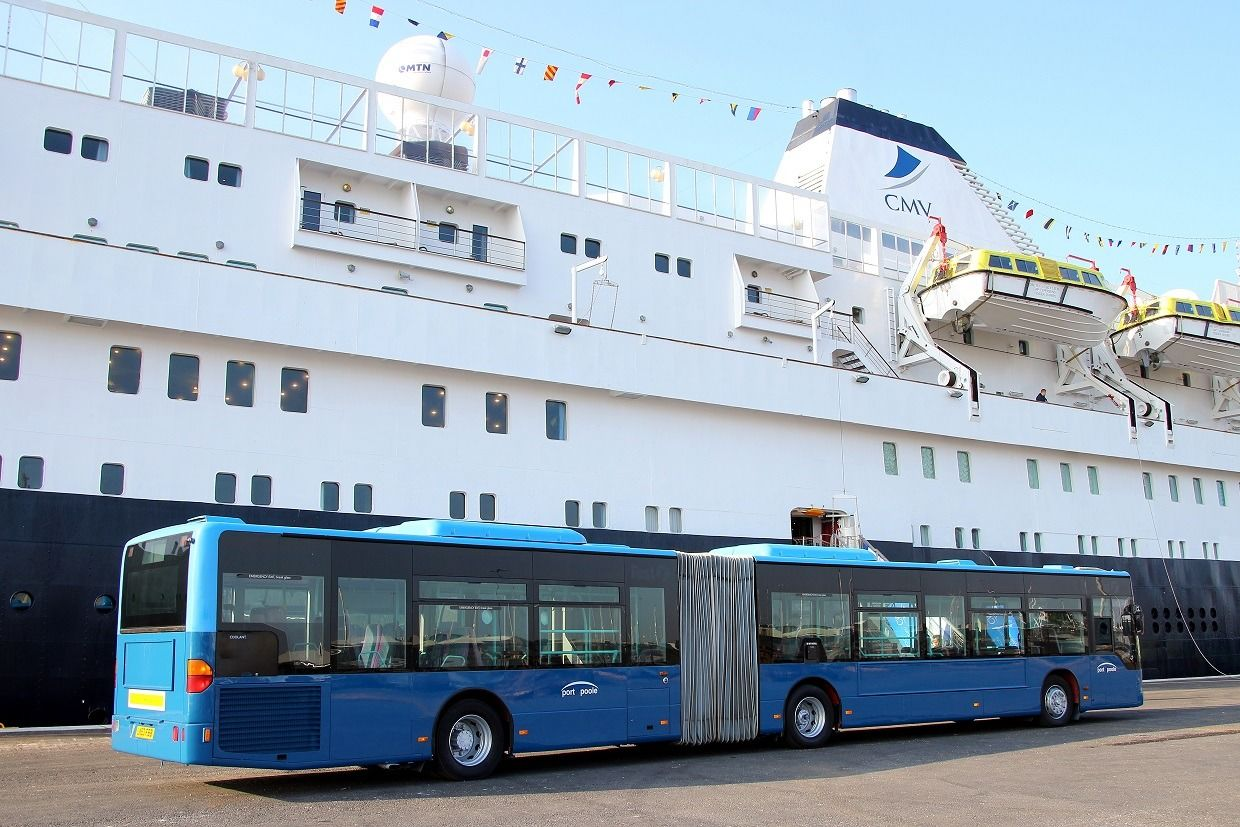 bus transfer from the Ferry